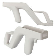 2x New White Zapper Gun For Nintendo Wii Wiimote Wireless Remote Controller Game