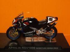 1:24 Scale  2002 Noriyuki Haga APRILIA RSV1000 by IXO