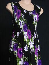 Cotton Party Floral Maxi Dresses for Women