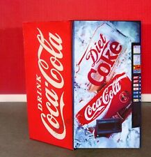 All New Selection For 2019 Dual Face Vending Machine 1:24 G Scale Diorama !