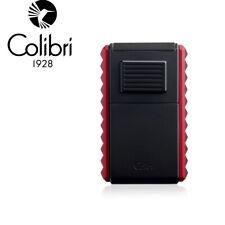 More details for colibri quasar astoria triple jet lighter 59 ring gauge cigar cutter black & red