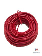 16 Gauge Red Primary AWG Stranded Copper Wire 25 FT PowerPath - Made In USA