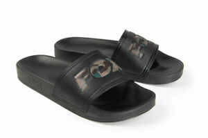Fox Sliders Black (All Sizes) *New 2021* - Free Delivery
