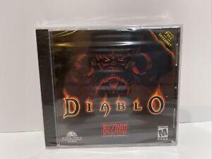 Diablo Original Video Game PC lin Jewel Case For Win 95 MAC NEW Factory SEALED