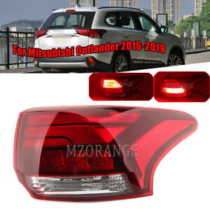 For Mitsubishi Outlander 2016 2017-19 Outer LED Right Rear Brake Tail Lamp Light