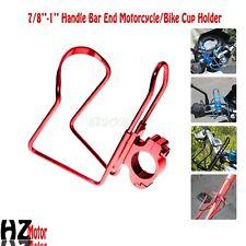 Motorcycle Red Drink Bottle Holder Fit Honda VTX1800 VTX1300 C R S N F T RETRO