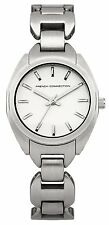 French Connection FC1174SM Silver Dial and Silver Bracelet Women's Quartz Watch