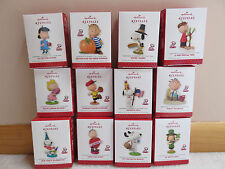 2013-2014 Hallmark Monthly Happiness is Peanuts Snoopy All Year Long-Set of 12