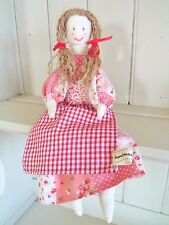 Rag Doll Kit Vintage Toy Craft Kit Patchwork Doll Hand or Sewing Machine Project