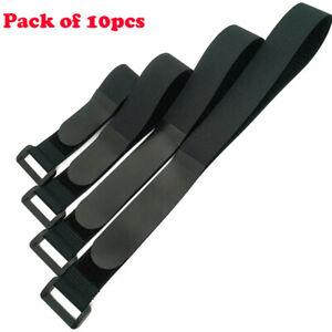 10pcs Tie Down Straps Bike Rack Strap Extension Cords, Ropes, Hoses Organization