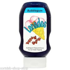 LENADOS TOPPING SYRUP BUBBLEGUM FLAVOUR 585G...GREAT WITH ICE CREAM!