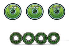 Stunt Scooter Bearings Pack of 4 GREEN SLIME ABEC 11 608RS Skate Bearings