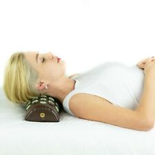 HealthyLine Jade and Tourmaline Gemstone Non-Electric Pillow for Neck Lower Back