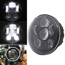 "7"" Round 6 LED Headlight Hi/Low Sealed Beam For Harley Davidson Dyna Sportster"