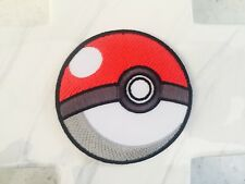 Pike Ball Red Pokémon Game Yellow Pet Hint Jacket Iron On Patches Patch