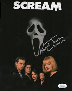 "Roger Jackson Autograph Signed 8x10 Photo - Scream ""Ghostface"" (JSA COA)"