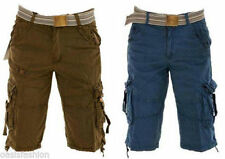 Patternless Cargo, Combat Unbranded Shorts for Men