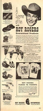 1954 vintage Ad Summer Fun with ROY ROGERS Lunch Kits Gun & Holsters MORE 062518