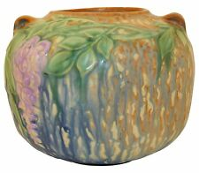 Roseville Pottery Wisteria Blue Vase 632-5