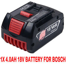 4.0AH 18V Li-ion Battery For Bosch BAT609 BAT618 17618 25618-01 2 607 336 091