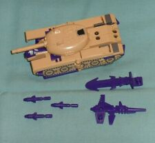 original G1 Transformers BLITZWING 100% COMPLETE WITH TANK TURRET