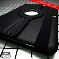 BLACK Leather Book Case Cover Pouch for Samsung SM-T900 T905 Galaxy Tab Pro 12.2