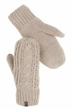 NWT NEW The North Face Cable Knit MItt Mittens Gloves in Cream L+