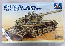 M-110 A2 (203) Heavy Self Propelled Gun 1/35 Italerri