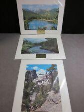 Colorado Art   Photographs  Vintage   Dream Lake   Echo Lake    Mount Elbert
