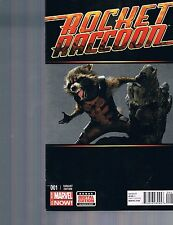 Rocket Raccoon #1 Guardians of the Galaxy Photo Variant Skottie Young 2014