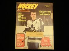 December 1971 Hockey Pictorial Magazine - Norm Ullman Toronto Maple Leafs Cover