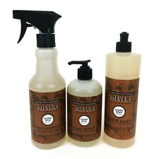 Mrs Meyers ACORN SPICE Hand & Dish Soap Multi Surface Cleaner Fall Scent Bundle