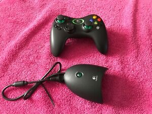 Xbox Logitech Cordless Precision Wireless Controller With Dongle Receiver