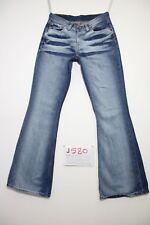 Levis 544 flare bootcut (Cod.J580) Tg.42 W28 L34 jeans usato boyfriend donna