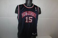 NBA NEW JERSEY NETS Vince CARTER #15 Reebok Sewn JERSEY Kids Large Brooklyn NBA