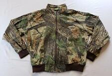 Cabela's Men's Lightweight Camouflage Full-Zip Bomber Jacket SC4 Green Size XL