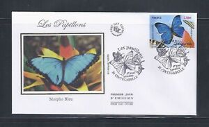 "Enveloppe 1er jour ""Les papillons"" 03/09/2010 n° 4497 TBE"