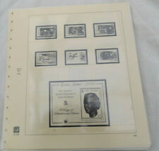 ISLE OF MAN SAFE DUAL HINGELESSS STAMP ALBUM PAGES 2002-2006 104-130 SEE CONDITI