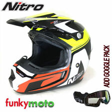 Motorrad-Helme für Männer und Glanz Nitro