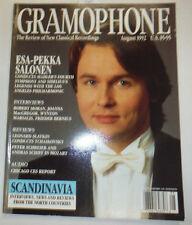 Gramophone Magazine Esa Pekka Salonen & Robert Moran August 1992 032515R2