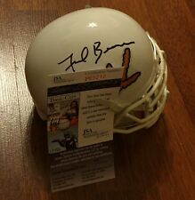 FRANK BEAMER HAND SIGNED VIRGINIA TECH HOKIES MINI HELMET W/ JSA COA