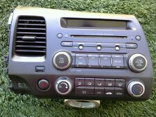 2006-2011 HONDA CIVIC *2DOOR* RADIO CD PLAYER PREMIUM AUDIO SYSTEM OEM SEE PHOTO