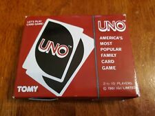 Vintage 1981 Japanese UNO Card Game by TOMY and I.G.I. - Complete Japan AWESOME!