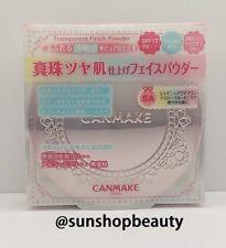 CANMAKE Transparent Finish Powder SA SPF17・PA++