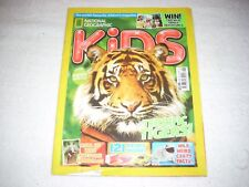 National Geographic Kids Magazine Issue 112 June 2015 Terrific Tigers