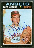 Dave LaRoche #174 signed autograph auto 1971 Topps Baseball Trading Card