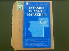 SPACE INVADER MARSEILLE CARTE MAP EXPO INVASION PLANETE