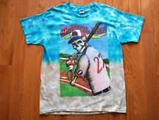 Vintage Grateful Dead T-Shirt 1996 Batter's Up Steal Your Base Atlanta Size XL