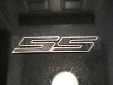 "GM LICENSED, 2010+ CAMARO ""SS"" Emblem Stainless Steel + Color"