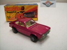 Matchbox Superfast 54, Ford Capri, Lilametallic, 1972